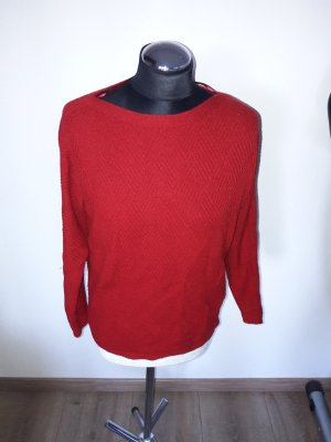 S.oliver Pullover rot Gr. 38