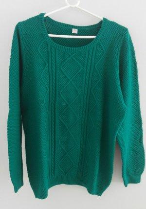 S. Oliver Pullover smaragdgrün