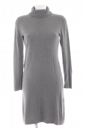 s.Oliver Robe pull gris clair moucheté style simple