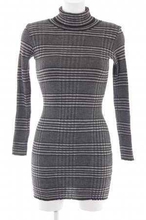 s.Oliver Sweaterjurk grijs-zwart casual uitstraling