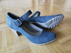 s.Oliver Pumps slate-gray-blue