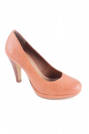 s.Oliver Pumps hellbraun Casual-Look