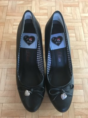 s. Oliver Pumps in schwarz