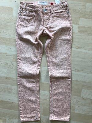 s.Oliver / Qs Jeans mit Leomuster Gr 40 Länge 30
