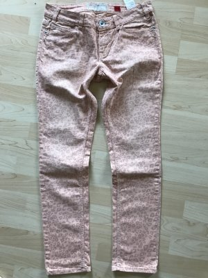 QS by s.Oliver Tube jeans rosé-wolwit