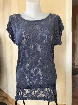 s.Oliver / Qs T-Shirt Gr 36 Blau
