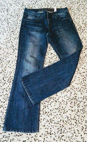 Sir Oliver Jeans coupe-droite multicolore coton