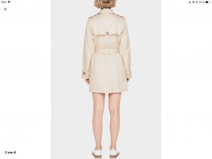 S. Oliver red Label Trenchcoat white sand Grössse 36