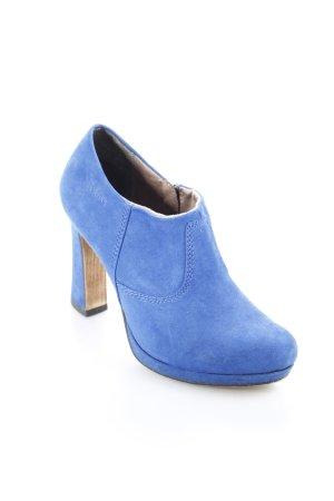 s.Oliver Reißverschluss-Stiefeletten blau Street-Fashion-Look