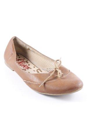 s.Oliver Riemchen Ballerinas cognac Casual-Look