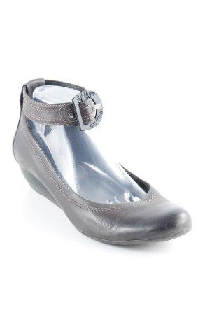 s.Oliver Riemchen Ballerinas dunkelgrau-grau Elegant
