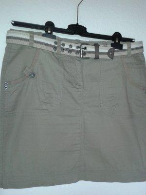 s.Oliver Jupe cargo beige coton