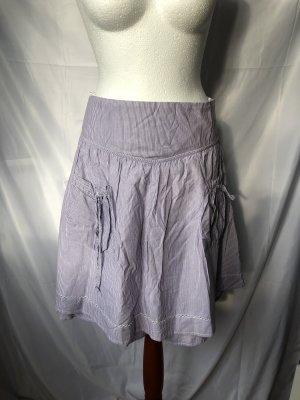 s.Oliver Flared Skirt white-purple cotton