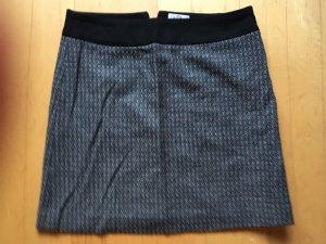 s.Oliver Wool Skirt grey-black