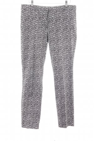 s.Oliver Röhrenhose florales Muster Casual-Look