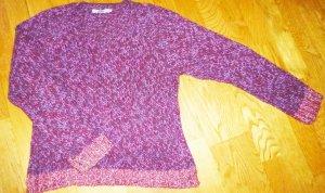 S OLIVER rot melierter Pullover 42