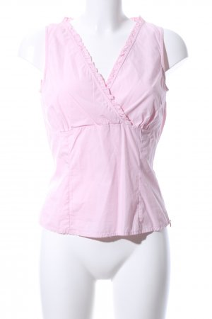 s.Oliver Rüschen-Bluse pink Casual-Look