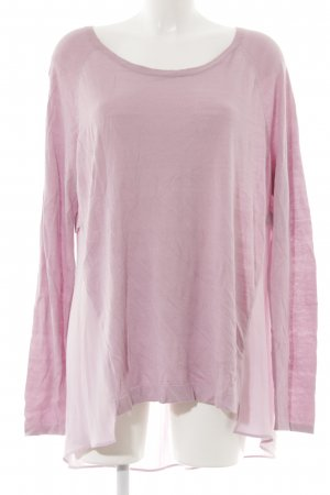 s.Oliver Rundhalspullover hellrosa Casual-Look
