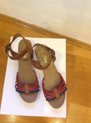 s.Oliver High-Heeled Sandals multicolored