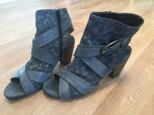 S. Oliver Sandaletten blau jeansoptik Größe 40 ungetragen