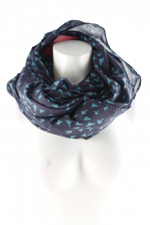 s.Oliver Tube Scarf dark blue-cadet blue casual look