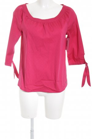 s.Oliver Slip-over blouse magenta casual uitstraling