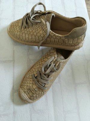 s.Oliver Espadrille Sandals gold-colored
