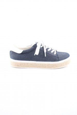 s.Oliver Lace Shoes blue-natural white casual look