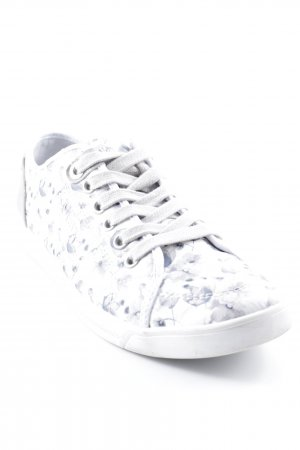s.Oliver Schnürsneaker florales Muster Casual-Look