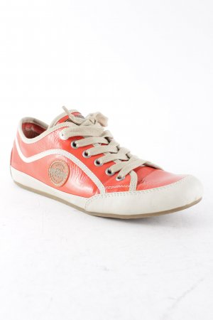 s.Oliver Schnürsneaker neonorange Casual-Look