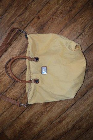 S. OLIVER schöne okkerfarbende Tasche waschbar