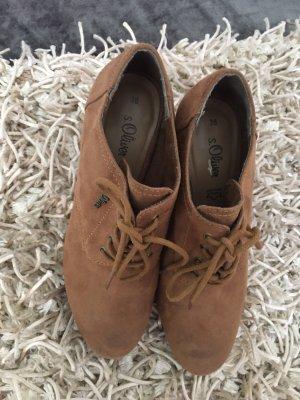 s.Oliver Chaussure de travail brun-marron clair