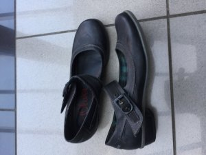 s.Oliver Mary Jane Ballerinas black