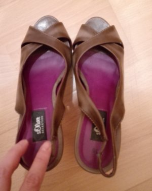 S.oliver Schuhe Gr: 36 ( Grau Brau Frabe)