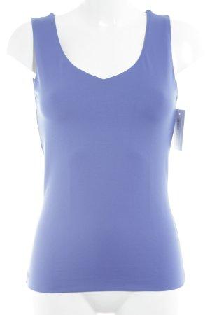 s.Oliver schulterfreies Top blau-stahlblau Casual-Look