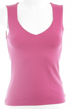 s.Oliver schulterfreies Top magenta-pink Casual-Look