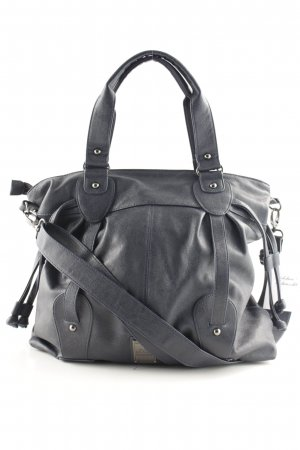 s.Oliver Schultertasche dunkelblau Casual-Look