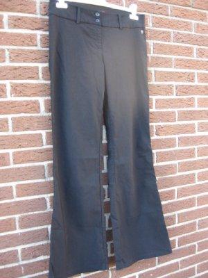 s.Oliver: schwarze Businesshose, stretchig, Größe 42