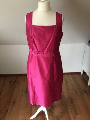 S.Oliver seidenkleid seid etuikleid businesskleid cocktailkleid Pink purpur 42