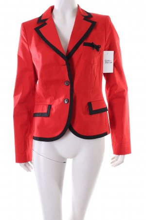 s.Oliver SELECTION Blazer rot-schwarz Business-Look