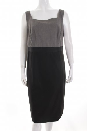 s.Oliver SELECTION Etuikleid grau-schwarz Casual-Look