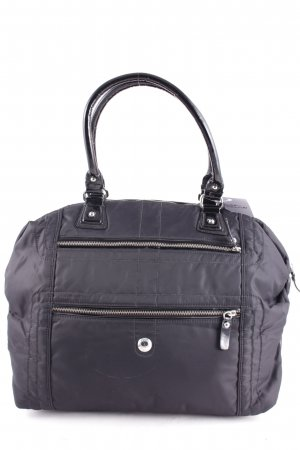 s.Oliver SELECTION Handtasche schwarz Lack-Optik