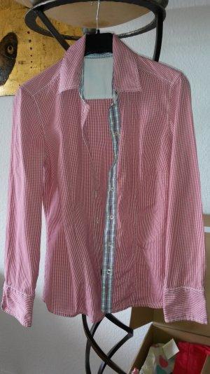 s.Oliver Selection Hemd Bluse rot kariert Gr.40