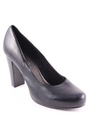s.Oliver SELECTION High Heels schwarz schlichter Stil