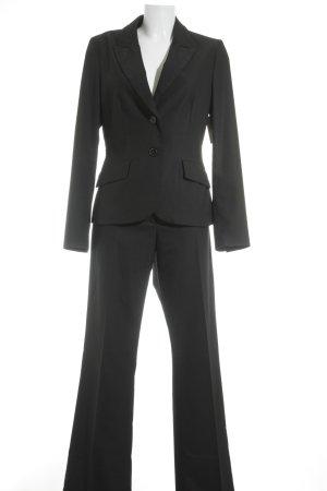 s.Oliver SELECTION Tailleur-pantalon noir style d'affaires