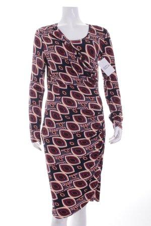 s.Oliver SELECTION Jerseykleid abstraktes Muster extravaganter Stil