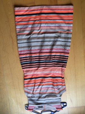 S. Oliver Selection Kleid orange gestreift 36