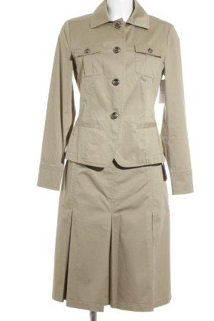 s.Oliver SELECTION Kostüm beige Business-Look
