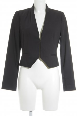 s.Oliver SELECTION Kurz-Blazer dunkelblau Business-Look