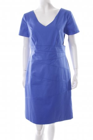 s.Oliver SELECTION Kurzarmkleid neonblau Casual-Look